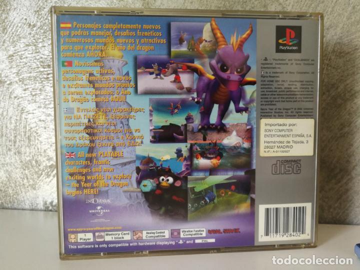 Videojuegos y Consolas: SPYRO EL AÑO DEL DRAGON PS1 PLAY1 - Foto 5 - 166371622