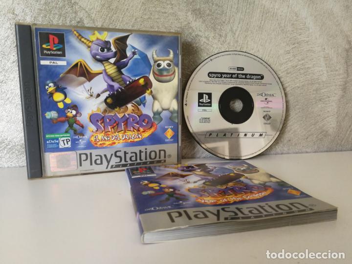 SPYRO EL AÑO DEL DRAGON PS1 PLAY1 (Juguetes - Videojuegos y Consolas - Sony - PS1)