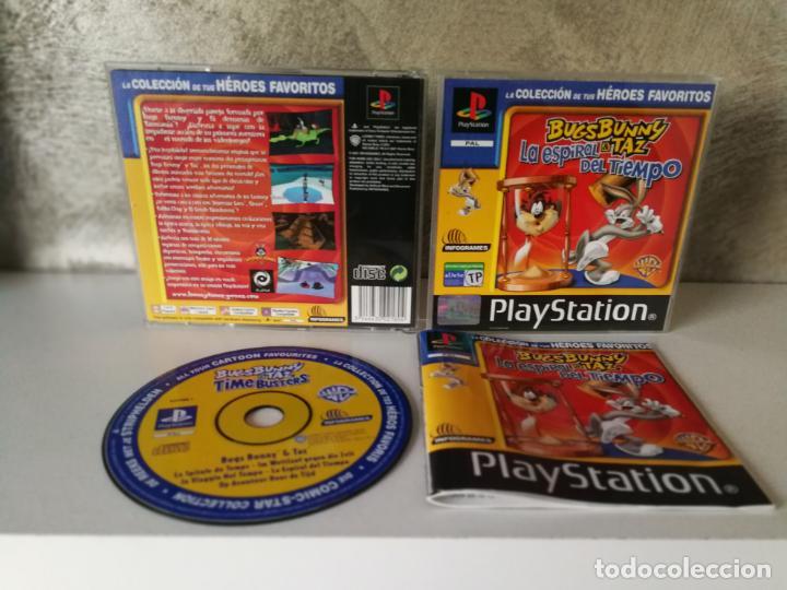BUGS BUNNY LA ESPIRAL DEL TIEMPO PS1 (Juguetes - Videojuegos y Consolas - Sony - PS1)