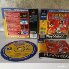 Videojuegos y Consolas: BUGS BUNNY LA ESPIRAL DEL TIEMPO PS1. Lote 166371668