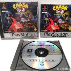 Videojuegos y Consolas: CRASH BANDICOOT 2: CORTEX STRIKES BACK PLAYSTATION PSX PS1 PSONE. Lote 166714674