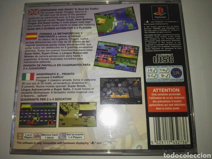 Videojuegos y Consolas: Frogger (Konami,1997) Sony PlayStation 1 ,PSX,PS1 - Foto 6 - 166761505