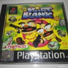 Videojuegos y Consolas: POINT BLANK(GUN BULLET) PAL ESPAÑA( NAMCO,1998) SONY PLAYSTATION 1 ,PSX,PS1. Lote 166793520