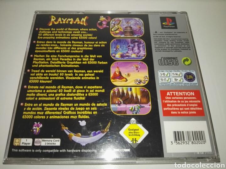 Videojuegos y Consolas: Rayman (Platinum)(Only Box,no game) PAL Europe( Ubisoft,1995) Sony ,PSX,PS1 - Foto 2 - 166856286