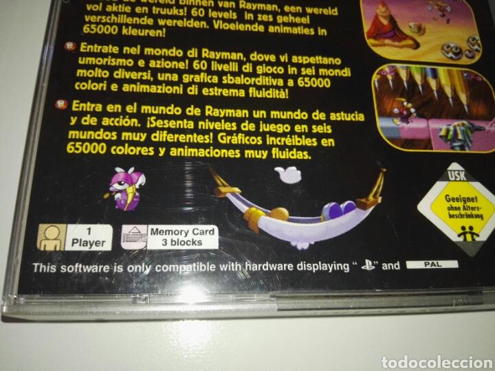 Videojuegos y Consolas: Rayman (Platinum)(Only Box,no game) PAL Europe( Ubisoft,1995) Sony ,PSX,PS1 - Foto 3 - 166856286