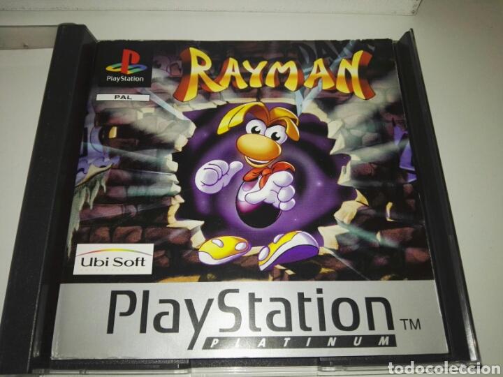 Videojuegos y Consolas: Rayman (Platinum)(Only Box,no game) PAL Europe( Ubisoft,1995) Sony ,PSX,PS1 - Foto 5 - 166856286