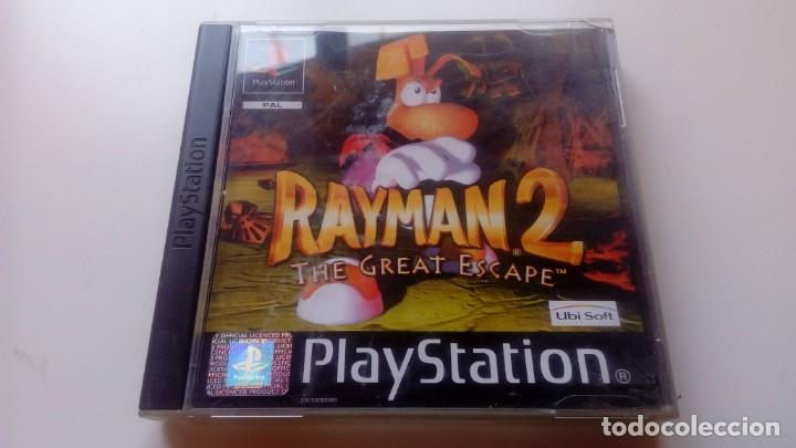 JUEGO RAYMAN 2 THE GREAT ESCAPE CONSOLA SONY PLAY STATION PS1 PS ONE NO PS2 PS3 LEER (Juguetes - Videojuegos y Consolas - Sony - PS1)
