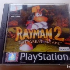 Videojuegos y Consolas: JUEGO RAYMAN 2 THE GREAT ESCAPE CONSOLA SONY PLAY STATION PS1 PS ONE NO PS2 PS3 LEER . Lote 166896148