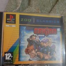 Videojuegos y Consolas: GEKIDO PS1 COMPLETO PLAYSTATION PAL PS ONE. Lote 166966033
