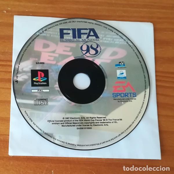 FIFA 98 RUMBO AL MUNDIAL, EA SPORTS. PS1 PSX PLAYSTATION 1 PAL ESPAÑA. SOLO DISCO (Juguetes - Videojuegos y Consolas - Sony - PS1)