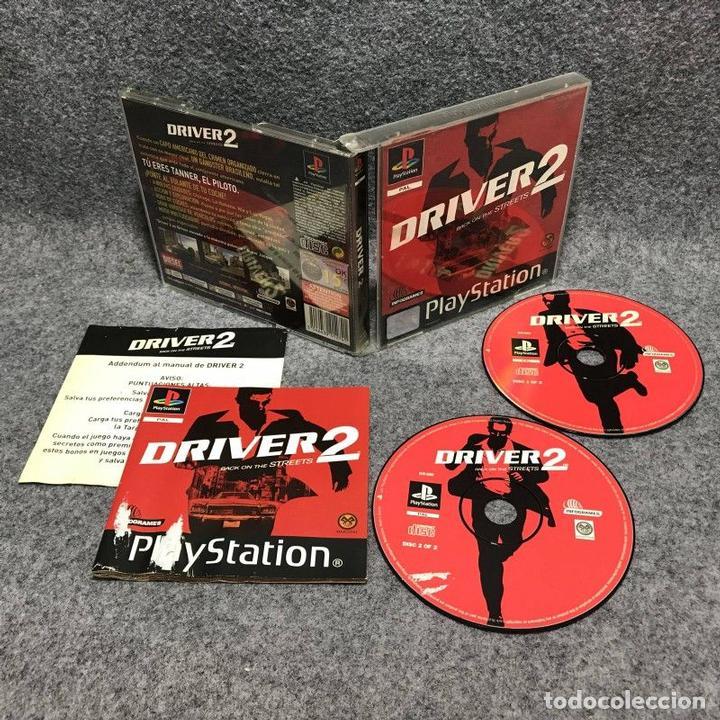 DRIVER 2 SONY PLAYSTATION (Juguetes - Videojuegos y Consolas - Sony - PS1)