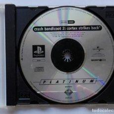 Videojuegos y Consolas: PLAYSTATION. CRASH BANDICOT 2: CORTEX STRIKES BACK. 1997 UNIVERSAL. EN CAJA Y SIN CARÁTULA. VER FOTO. Lote 169384516