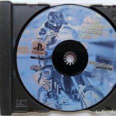Videojuegos y Consolas: PLAYSTATION. JEREMY MCGRATH. SUPERCROSS 2000. EN CAJA Y SIN CARÁTULA. VER FOTO. Lote 169385208