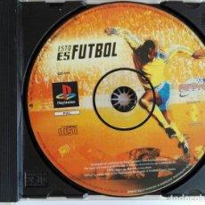 Videojuegos y Consolas: PLAYSTATION. ESTO ES FUTBOL. FIFPRO. 1999. EN CAJA Y SIN CARÁTULA. VER FOTO. Lote 169386528