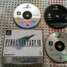 Videojuegos y Consolas: FINAL FANTASY VII 7 FF PLATINUM PAL PSX PS1 PLAYSTATION 1 PLAY STATION ONE KREATEN . Lote 169396832