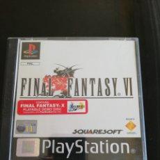 Videojuegos y Consolas: FINAL FANTASY VI. Lote 169863581