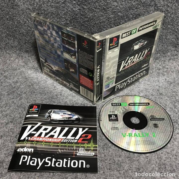 V RALLY 2 SONY PLAYSTATION PS1 (Juguetes - Videojuegos y Consolas - Sony - PS1)
