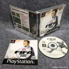 Videojuegos y Consolas: FIFA FOOTBALL 2002 SONY PLAYSTATION PS1. Lote 170471724