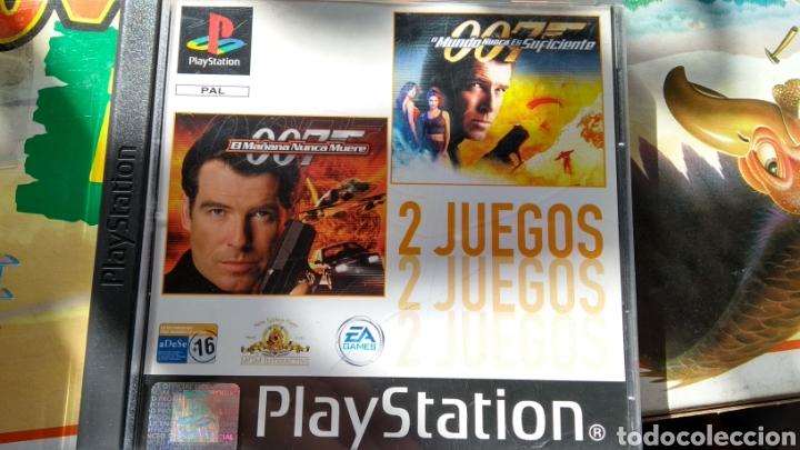 EL MAÑANA NUNCA MUERE + EL MUNDO NUNCA ES SUFICIENTE (SIN MANUAL) (Juguetes - Videojuegos y Consolas - Sony - PS1)