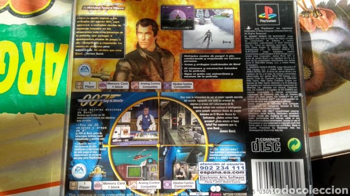 Videojuegos y Consolas: El mañana nunca muere + el mundo nunca es suficiente (sin manual) - Foto 2 - 170482158
