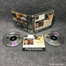 Videojuegos y Consolas: EL MAÑANA NUNCA MUERE+EL MUNDO NUNCA ES SUFICIENTE SONY PLAYSTATION PS1. Lote 170997390