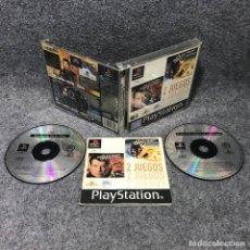 Videojuegos y Consolas: EL MAÑANA NUNCA MUERE+EL MUNDO NUNCA ES SUFICIENTE SONY PLAYSTATION PS1. Lote 170997395