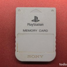 Videogiochi e Consoli: MEMORY CARD PLAYSTATION PS1 GRIS. Lote 171143430