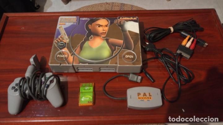 Videojuegos y Consolas: Lote Tomb raider ,PS1 vinilada ,juegos PS1 ,PS2 ,guia y figura Lara Croft - Foto 4 - 171251259
