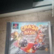 Videojuegos y Consolas: JUEGO VIDEOJUEGO COMPLETO CONSOLA PLAY STATION 1 PSX CRASH BASH. Lote 171675433