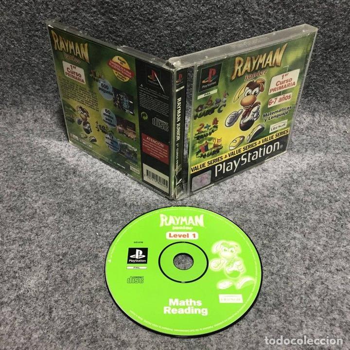 RAYMAN JUNIOR 1ER CURSO PRIMARIA SONY PLAYSTATION PS1 (Juguetes - Videojuegos y Consolas - Sony - PS1)