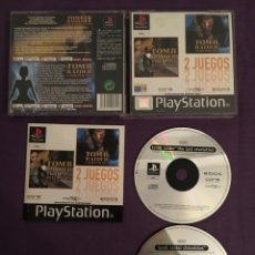 Videojuegos y Consolas: PACK JUEGOS TOMB RAIDER SONY PLAYSTATION. Lote 172124300