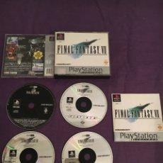 Videojuegos y Consolas: JUEGO FINAL FANTASY 7 + DEMO FINAL FANTASY 8 PLATINUM SONY PLAYSTATION. Lote 172124335