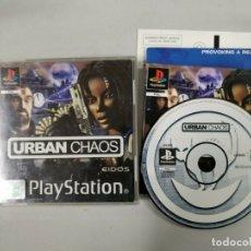 Videojuegos y Consolas: URBAN CHAOS - PSX PS1 PLAYSTATION PLAY STATION - PAL. Lote 172171015