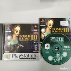 Videojuegos y Consolas: TOMB RAIDER 3 ADVENTURES OF LARA CROFT - PSX PS1 PLAYSTATION PLAY STATION - PAL. Lote 172217444
