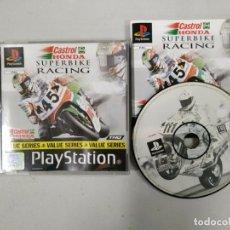 Videojuegos y Consolas: SUPERBIKE RACING CASTROL HONDA - PSX PS1 PLAYSTATION PLAY STATION - PAL ESP. Lote 172217710
