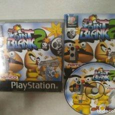 Videojuegos y Consolas: POINT BLANK 2 - PSX PS1 - PLAYSTATION PLAY STATION - PAL ESPAÑA. Lote 172218744