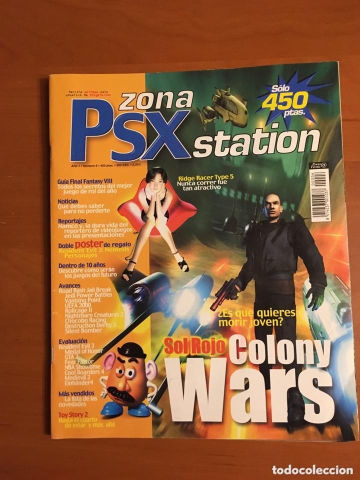 ZONA PSX STATION N°6 (Juguetes - Videojuegos y Consolas - Sony - PS1)