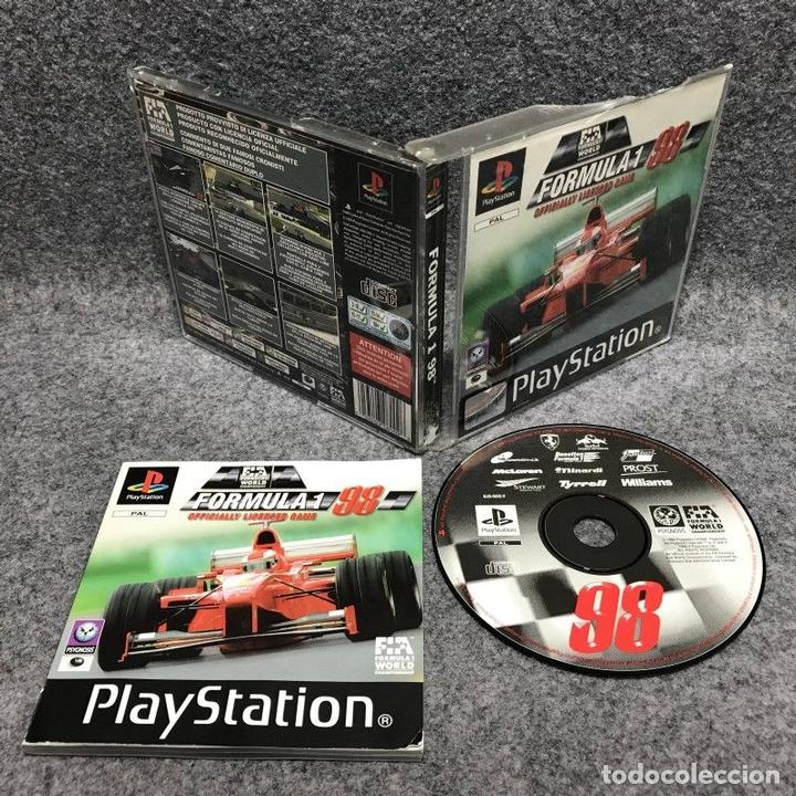 FORMULA 1 98 SONY PLAYSTATION PS1 (Juguetes - Videojuegos y Consolas - Sony - PS1)