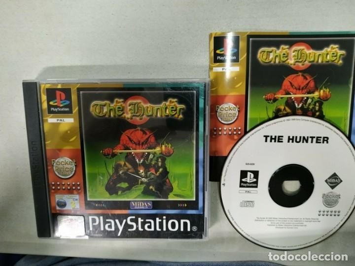 THE HUNTER - PSX PS1 PLAYSTATION PLAY STATION - PAL (Juguetes - Videojuegos y Consolas - Sony - PS1)