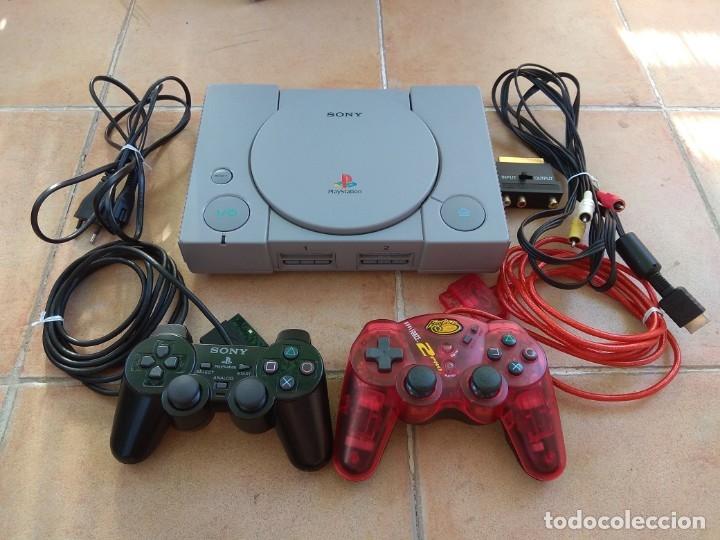 CONSOLA SONY PLAYSTATION 1 - PS1 (Juguetes - Videojuegos y Consolas - Sony - PS1)