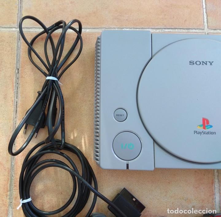 Videojuegos y Consolas: CONSOLA SONY PLAYSTATION 1 - PS1 - Foto 5 - 173792922
