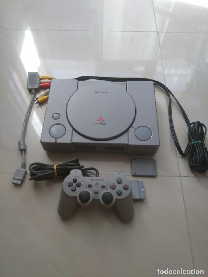 PLAYSTATION 1 SONY (Juguetes - Videojuegos y Consolas - Sony - PS1)