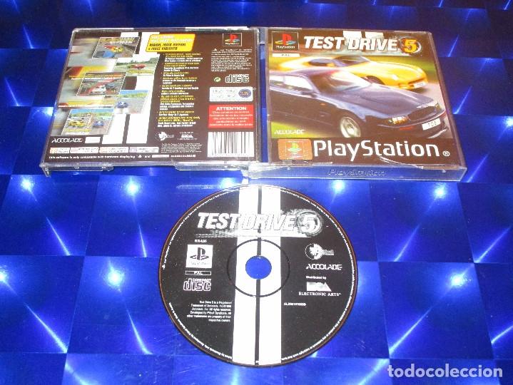 TEST DRIVE 5 - PSX - SLES 01165 - ACCOLADE - MAS GRANDE MAS DURO MAS RAPIDO (Juguetes - Videojuegos y Consolas - Sony - PS1)