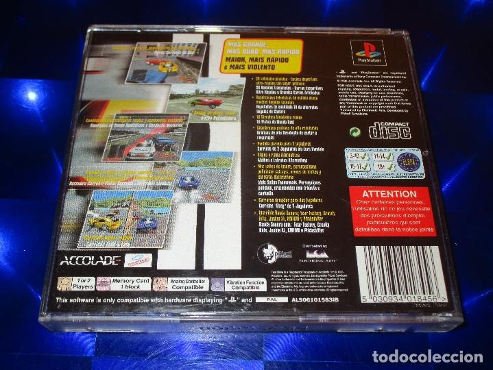 Videojuegos y Consolas: TEST DRIVE 5 - PSX - SLES 01165 - ACCOLADE - MAS GRANDE MAS DURO MAS RAPIDO - Foto 3 - 173924992