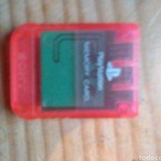 Videojuegos y Consolas: MEMORY CARD SONY PLAYSTATION 1. Lote 174333453