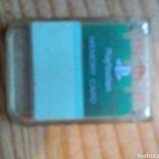 Videojuegos y Consolas: MEMORY CARD SONY PLAYSTATION 1. Lote 174333495