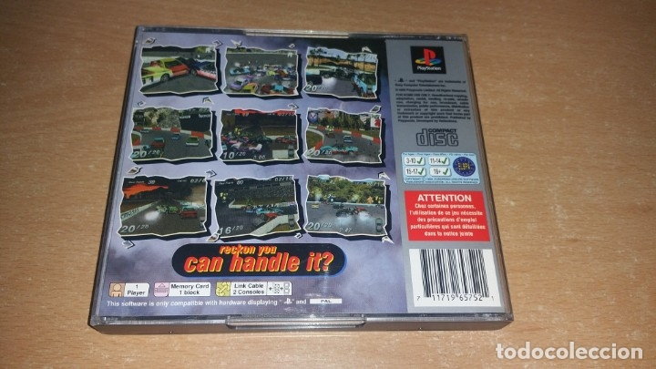 Videojuegos y Consolas: DESTRUCTION DERBY PLAYSTATION PAL ESPAÑA Platinum - Foto 2 - 175227108