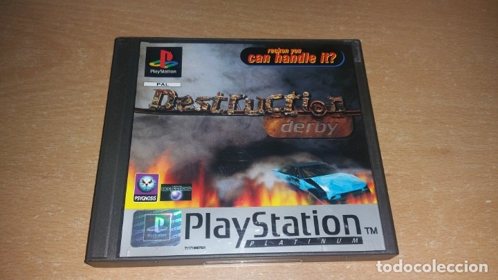 DESTRUCTION DERBY PLAYSTATION PAL ESPAÑA PLATINUM (Juguetes - Videojuegos y Consolas - Sony - PS1)