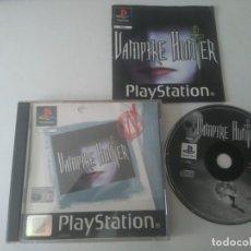 Videojuegos y Consolas: VAMPIRE HUNTER PARA PS1 PS2 Y PS3!!!! ENTRA Y MIRA MIS OTROS JUEGOS!!. Lote 175515609