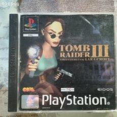 Videojuegos y Consolas: TOMB RAIDER III ADVENTURES OF LARA CROFT PS1 - PSX. Lote 175968694